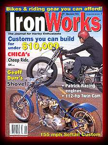 IronWorks - Bike Spread with an Alligator Bob's Seat and Article about Gel Pads